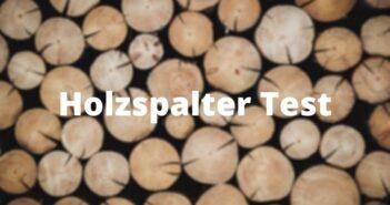 Stahlmann Holzspalter 7 Tonnen Test