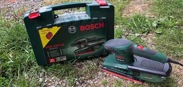 Bosch Schwingschleifer PSS250 AE Test und Erfahrungen