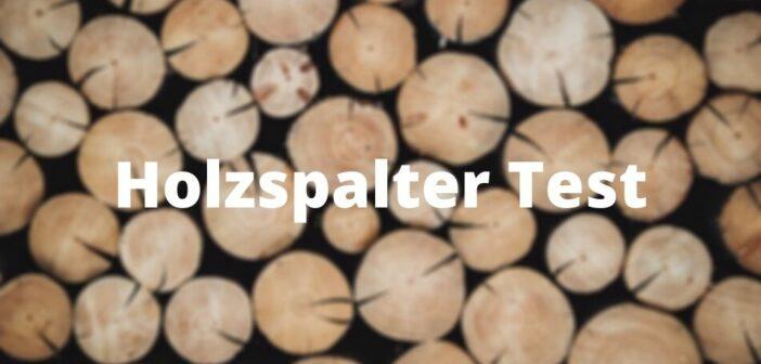 Güde Holzspalter Spalty W370 Test
