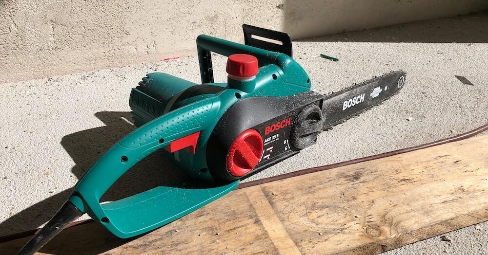 Bosch DIY Kettensäge AKE35S Erfahrungen