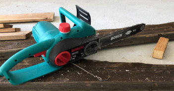 Bosch DIY Kettensäge AKE35S Test und Erfahrungen